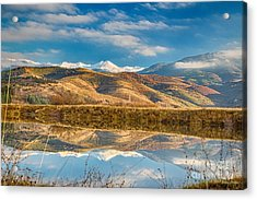 Morning In Pirin Mountain Acrylic Print