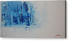 Morning In The City Acrylic Print