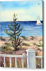 Morning In The Hamptons Acrylic Print