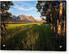 Acrylic Print featuring the photograph Morning In The Mountains by Jack Bell