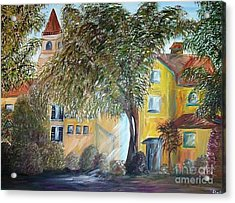 Morning In The Old Country Acrylic Print by Eloise Schneider