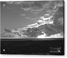 Morning Inspiration In Black And White Acrylic Print by Vic  Mastis