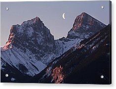 Morning Light Canmore Acrylic Print by Richard Berry