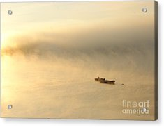 Acrylic Print featuring the photograph Morning Light by Christopher Mace