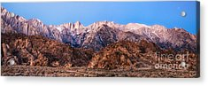 Morning Light Mount Whitney Acrylic Print