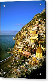 Morning Light Positano Italy Acrylic Print
