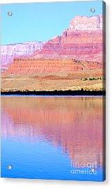 Morning Light - Vermillion Cliffs And Colorado River Acrylic Print by Douglas Taylor