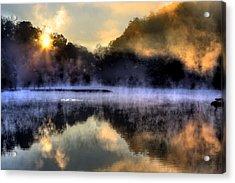 Morning Mist Acrylic Print by Steve Parr