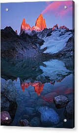 Morning Of Tranquility Acrylic Print by Yan Zhang
