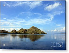 Morning On Komodo Acrylic Print by Sergey Lukashin
