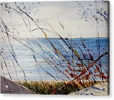 Morning On Lake Michigan Acrylic Print