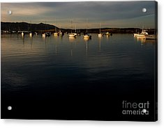 Acrylic Print featuring the photograph Morning On The Bay by Terry Garvin