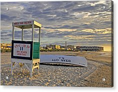 Morning On The Beach Acrylic Print