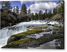 Morning On The Deschutes Acrylic Print