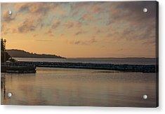 Morning Over Lake Simcoe Acrylic Print