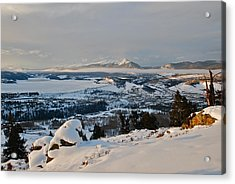 Morning Pano Acrylic Print by Bob Berwyn