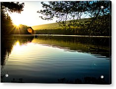 Morning Peace Acrylic Print by Jahred Allen