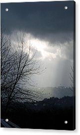 Morning Rains Acrylic Print by Scott Ware