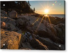 Morning Rays Acrylic Print by Kristopher Schoenleber