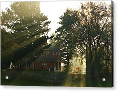 Acrylic Print featuring the photograph Morning Rays by Lynn Hopwood