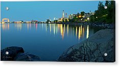 Acrylic Print featuring the photograph Morning Reflection by Gregory Israelson