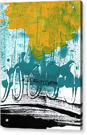 Morning Ride Acrylic Print by Linda Woods