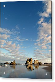 Morning Rocks Acrylic Print