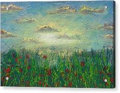 Morning Roses Acrylic Print