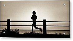 Morning Run Acrylic Print