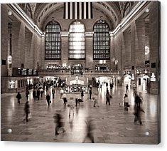Morning Rush - Grand Central Terminal Acrylic Print