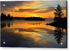 Acrylic Print featuring the photograph Morning Serenity by Gregory Israelson