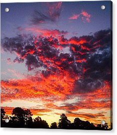 Morning Sky Acrylic Print