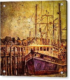 Morning Star Acrylic Print by Bob Orsillo