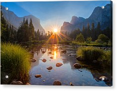 Morning Star Acrylic Print by Mike Lee