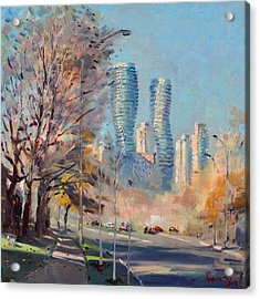 Morning Sunlight In Mississauga Acrylic Print