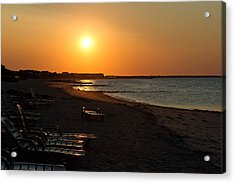 Acrylic Print featuring the photograph Morning Sunrise Over The Cape by John Hoey