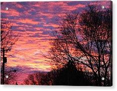 Morning Sunrise Acrylic Print