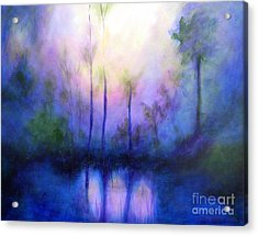 Morning Symphony Acrylic Print by Alison Caltrider