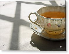 Acrylic Print featuring the photograph Morning Tea by Brooke T Ryan