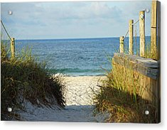 Morning Acrylic Print by Thomas Fouch