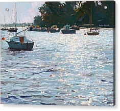 Morning Tide Acrylic Print by Martin Decent