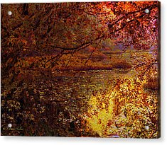Morning Tranquility Acrylic Print by J Larry Walker