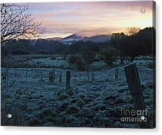 Morning Twilight Acrylic Print by Christian Mattison