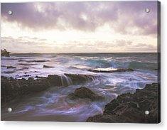 Morning Waves Acrylic Print by Brian Harig