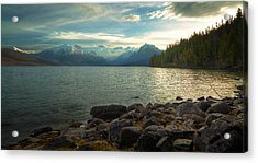 Mornings At Lake Mcdonald Acrylic Print by Stuart Deacon