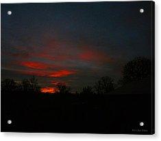 Mornings Early Light 012913 Acrylic Print by Joyce Dickens