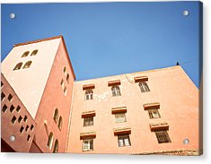 Moroccan Buildings Acrylic Print by Tom Gowanlock
