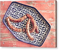 Moroccan Sausages Acrylic Print by Tom Gowanlock