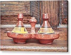 Moroccan Tagine Acrylic Print by Tom Gowanlock