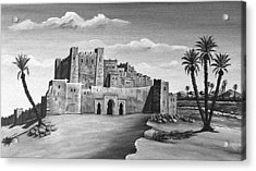 Morocco - Land Of Contrast Acrylic Print by Christine Till